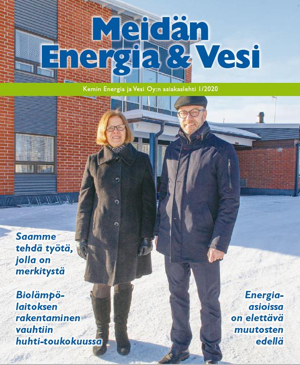Lue Meidän Energia ja Vesi 1/2020