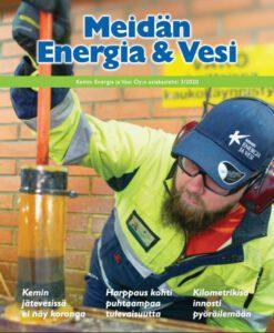 Meidän Energia ja Vesi 3/2020 kansi