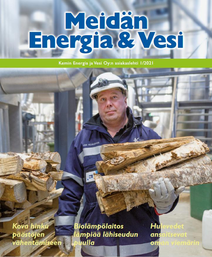 Lue Meidän Energia ja Vesi 1/2021